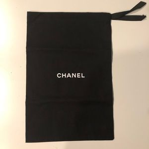 Authentic Chanel Ribbon Dust Bag